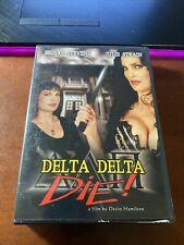 Delta Delta Die- Brinke Stevens, Julie Strain, Shepis (DVD, 2013) RARE HTF