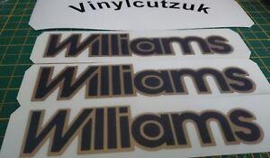 ****Renault clio williams decal set x3****