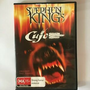 STEPHEN KING'S CUJO SPECIAL COLLECTOR'S EDITION - DVD - R4 - VGC - FREE POST