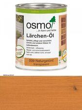 Osmo Lärchen -Öl     009         0,75L Holz-Spezial-Öl, seidenmatt für außen