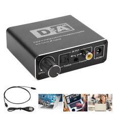 192KHz DAC Audio Decoder DAC Digital to Analog Converter 3.5mm Coaxial Toslink