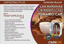 Omnilife Cafezzino Plus Colombian Coffee Cafe Weight Loose