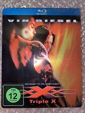 Triple X Xxx Vin Diesel Rare Oop First Edition Blu Ray Steelbook New German