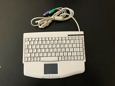 ADESSO ACK-540PW White Mini-Input Keyboard built-in Touchpad, PS2