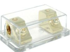 AUDIOPIPE CQ1111 24k gold finished ANL type Fuseholder Accepts 0-4ga Wire