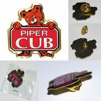 Pin PIPER CUB Bear Logo Pin for Pilots Crew Flight Instructor etc. metal pin