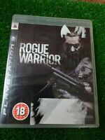 Rogue Warrior PS3 Playstation 3  action video game pegi 18 very good condition