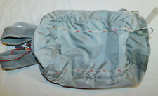 REI FLASH 18 BACKPACK DAY PACK HIKING ULTRA LIGHT WEIGHT SILVER 18L ~EXCELLENT