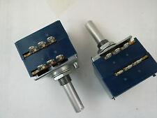 PE 1*ALPS 500K 'A' Log Potentiometer Attenuator Stereo New RK27