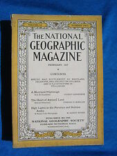 National Geographic Magazine February 1927 Vintage Ads Car Truck Advertising