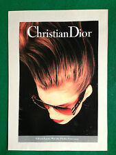 (OG1) Pubblicità Advertising Werbung Clipping - CHRISTIAN DIOR LUNETTES OCCHIALI