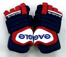"New Eagle Talon 90 Pro senior ice hockey gloves sr. 14"" glove Red Navy White"