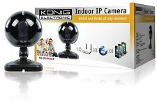 Konig Cámara IP para interiores ArteCódigo:SEC-IPCAM105B - Color Negra o Blanca