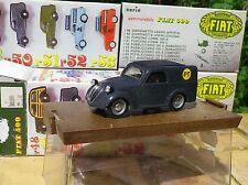 BRUMM ORO n° 45 FIAT 500 B PT camionnette tolée, état neuf en boite.