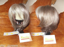 Jolie Monofilament One Wig Noriko Sandy Silver Fast Shipping Modern Bob Natural