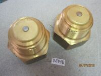 Two (2) Fisher G102 Pressure Release Brass Check Valve for Propane