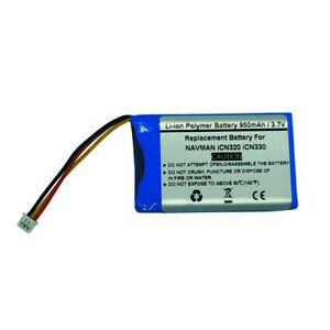 3.7V/950mAH Replacement Battery for NAVMAN iCN320 iCN330