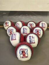 10 TEN Mark Mcgwire MLB Photoball Baseballs WS16 2008 62 Home runs