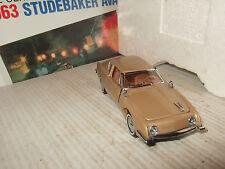Franklin Mint Classic Car of 60's Range, 1963 Studebaker Avanti in 1:43 Scale.