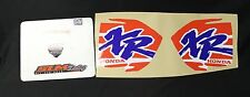 1995 HONDA XR200 DECALS STICKERS GRAPHICS XR 200 95 PAIR DECAL STICKER DIRTBIKE