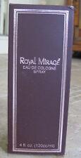NIB Royal Mirage Brown Eau de Cologne Classic Original BIG 4 OZ