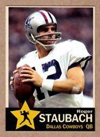 Roger Staubach '80 Dallas Cowboys final season Monarch Corona Gold Star #2