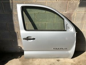 2006 Toyota Tacoma Front Right Door Silver Used
