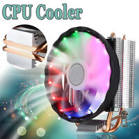 RGB LED CPU Cooler 4pin  Sink for Intel LGA 1150/1151/1155/1156/1366/775 Core /