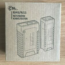 CSL Network Ethernet Cable Tester RJ11 RJ45 LAN Cat 5e 6e