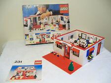 "Ancien set Légo N°231 "" Hospital "" année 1978 ( Rare )"