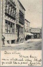 More details for northwich raising a hotel cheshire postcard c1904 with king edward ½d green 625