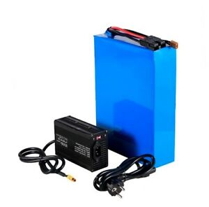 Lithium Ion Li-ion Battery 60V 50AH Rechargeable Electric E Bike Bicycle Scooter