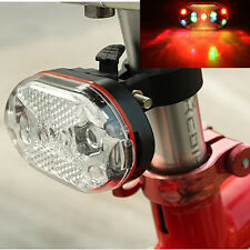 Bike Lights 9 Super Bright LED Bicycle Cycling Rear Tail Riding Lamp Colorful