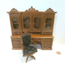 "BESPAQ  MINIATURE THE ""GINSBURG"" LIMITED EDITION OFFICE DESK SET 2528-NWN2"