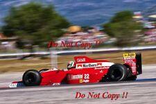 Andrea de Cesaris BMS Scuderia Italia Dallara French Grand Prix 1990 photo