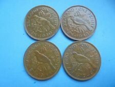 New Zealand, Penny's 1940 1943 1944 1949, Excellent Condition.