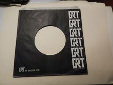 GRT OF CANADA BLACK    45 record company sleeve only    45