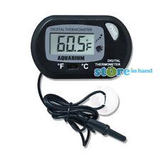 LCD Thermometer Electronic Digital Waterproof Temperature Sensor Fish Tank