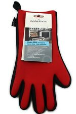 Heat Resistant Protective Neoprene 5 Finger Oven Mitt Glove Non Slip Durable