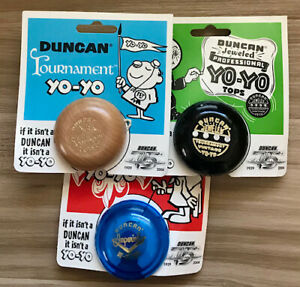 Set of 3 Duncan Collectors Series yoyo yo-yo imperial tournament jeweled