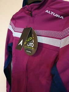 Altura Womens Nightvision 4 Long Sleeve Jersey Purple/blue size uk 8 bnwt