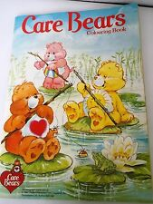 Vintage 1987 Care Bears Colouring Book