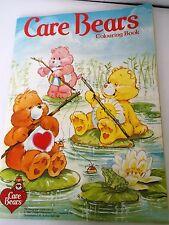 VINTAGE 1987 LIBRO da colorare Care Bears