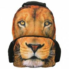 GRAND SAC A DOS CARTABLE THÈME PHOTO ANIMAL LION