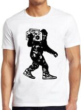 Hip Hop Camiseta 80s Dj Vinly récord reproductor de música estéreo Cool Tee 37 Bigfoot