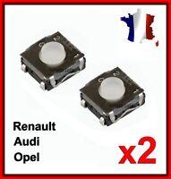 2 Interrupteur Switch Bouton Plip Clé Renault Clio3 MODUS TWINGO 2 MASTER TRAFIC
