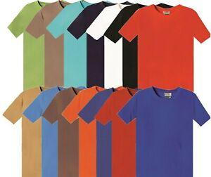 Mens T-Shirt Cotton Top Quality Plain Tee Crew Neck TShirts XXS To 5XL Shirts