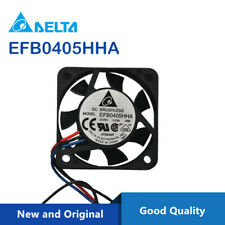 Delta EFB0405HHD 4020 DC 5V 0.45A alarm signal dual ball bearing case fans