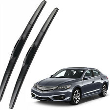 Genuine OEM Front Windshield Wiper Blades For 2013-2020 Acura ILX Full Series