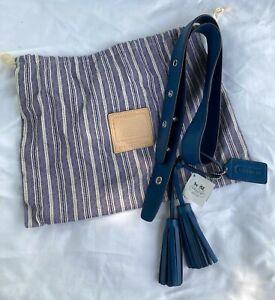 Coach Legacy Duffle Kit Blue Denim Interchangeable Leather Bag Strap 21848 NWT